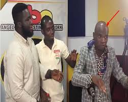 Video: Dr. UN Gets Angry; Engages In Fight  With Music Producer At A Radio Station