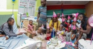 (+Video)Stonebwoy Pays Bills Of Children Admitted At 37 Military Hospital To Marks Her Daughter-Jidula's 3rd Birthday