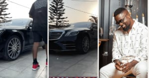 Read more about the article Sarkodie Shows Off His Mercedez Benz worth $100,000 days after Ibrah One mocked him