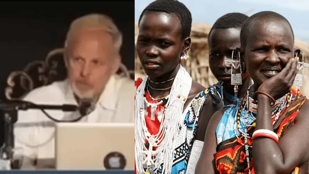 Read more about the article Watch Video -'We Must Kill Africans, They Are Worthless And Contribute Nothing To This World'- White Man
