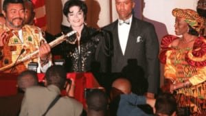 Watch Video: Rear Video of JJ Rawlings With Michael Jackson Pops Up. Check it Out