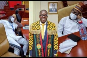 """Watch Video- """"I haven't stated that NPP has a majority in Parliament"""" -Speaker Alban Bagbin Clarifies"""
