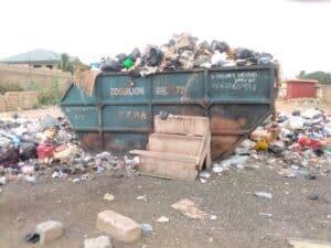 Improper Disposal Of Refuse In Kpone Kokompe.