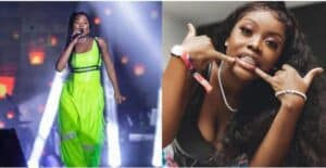 """Read more about the article """"Artistes like Efya paved way for some of us to be where we are"""" Gyakie reacts."""