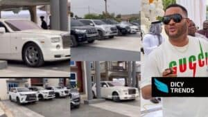 [Video]-Rolls Royce, G-Wagon, And Other Kwadwo Safo Jnr's Cars Pop up On His 35th Birthday Party