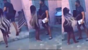 Watch Video- Man goes for his TV and decoder after he breaks up with his Girl