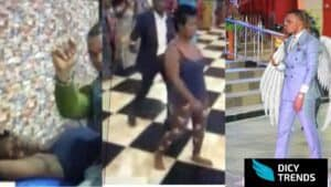 Watch Video: Obinim removes bullet from head of lady with12 days to die