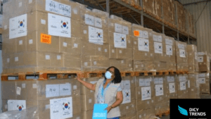 200,000 Face Masks Donated By Government Of Korea To GHS