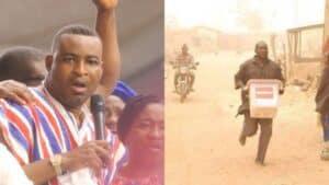 [Video]- Ballot Box Snatching Ended In Ashanti Region Because Of Chairman Wontumi- Sammy Binfo