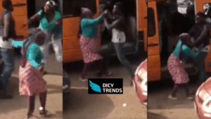 Driver's Mate Involved  In A Fight With  Two Market Women.