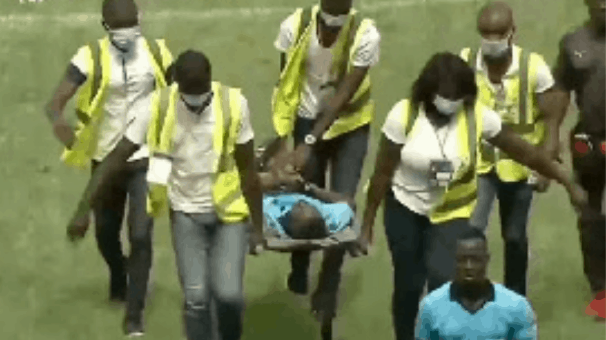 Ghanaian Referee Collapses In Côte D'ivoire