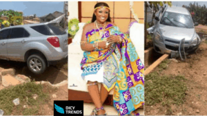 Read more about the article Abena Moet involved in an accident