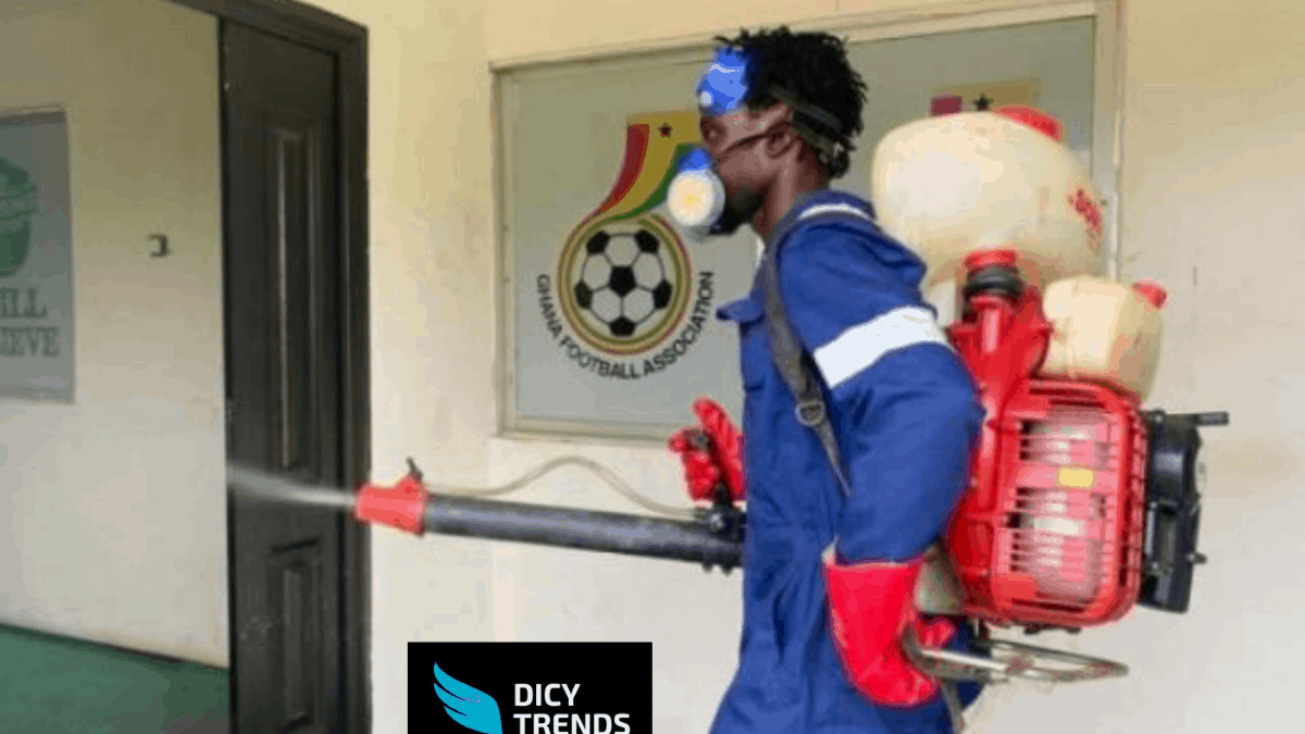 THE NATIONAL SPORTS AUTHORITY DISINFECTS 12 LEAGUE CENTRES AHEAD OF GPL SECOND ROUND.