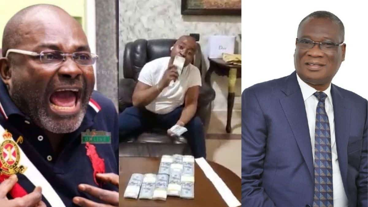 VIDEO: Stop Allowing Your Driver Disgrace NPP With His Stup!d!ty, How Much Is 100,000 Dollars? – Kennedy Agyapong Blasts KK Sarpong