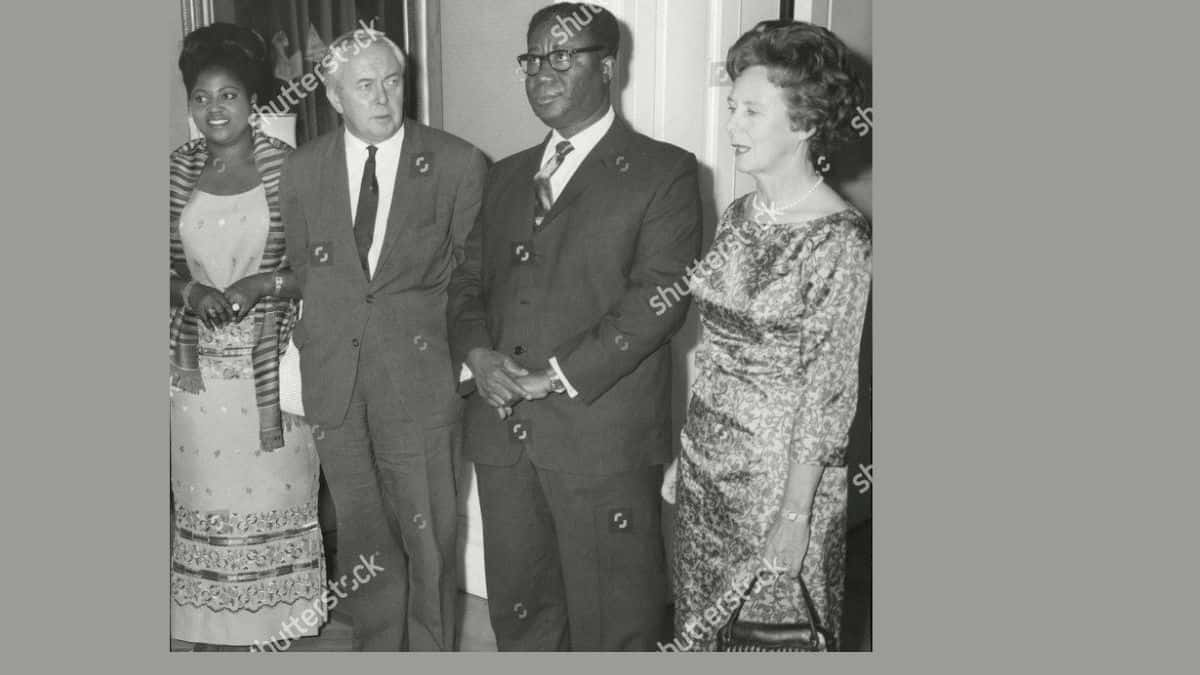 This Ghanaian President Had Eight wives and 18 children.