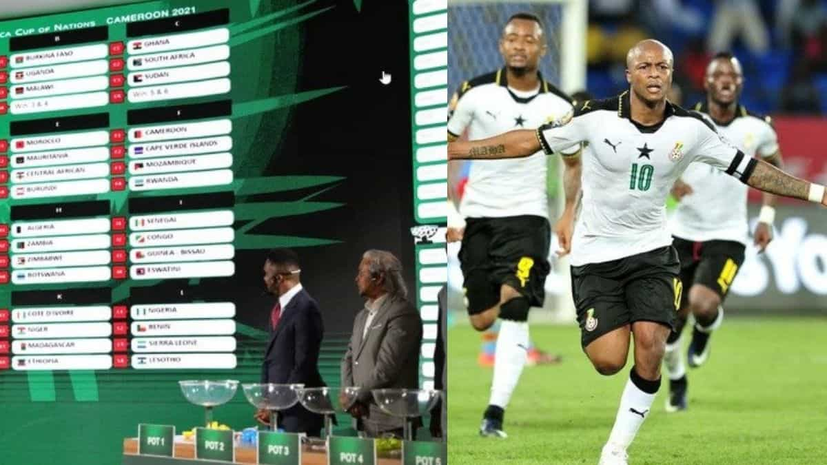 Afcon 2022: Final Groups Draw out – Which Group Is The Toughest?- Check out.