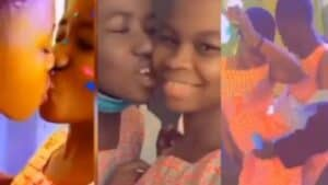 Read more about the article SHS Lesbobo Couple Caught Chopping themselves In School [Video]