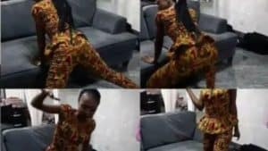 Read more about the article VIDEO-Akuapem Poloo Jamming To 'Shatta wale-Dem Confuse' After Being Released