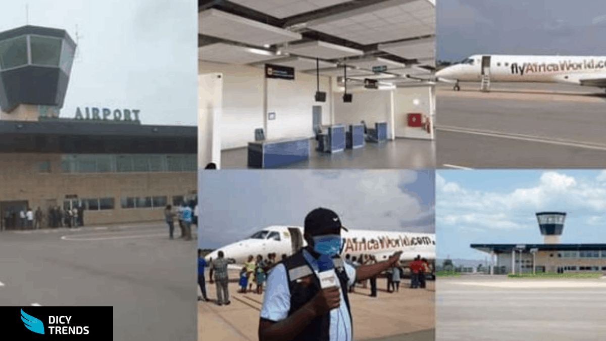 Ho Airport begins operations