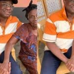Hon. Peter Amewu Show Off His Beautiful Mother on Mothers' day (Photos)