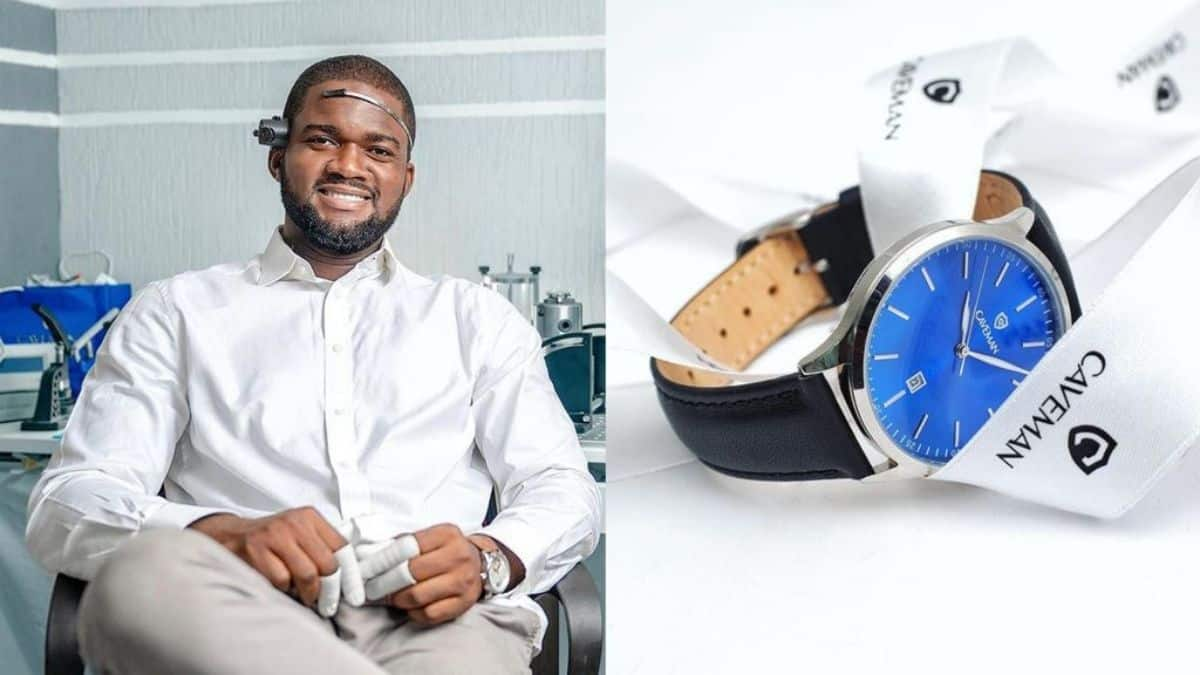 Read more about the article He resigned from his GH¢500 paid job to start a Ghanaian owned global watch brand
