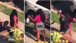 Read more about the article [VIDEO]-Couples caught chopping In public in broad daylight Goes Viral