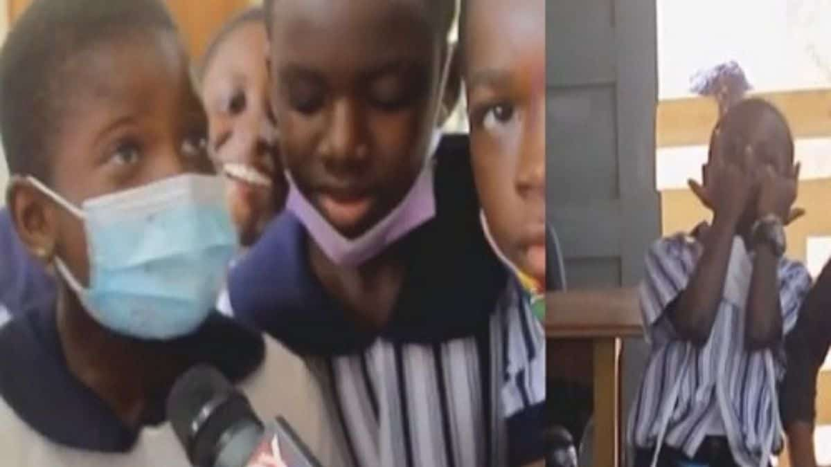 """Read more about the article VIDEO: """"Teachers are on strike, we fool all day in class, we might become unemployed someday """" – Pupils cry (WATCH)"""