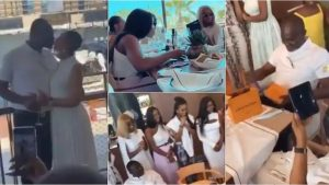Read more about the article Ken Agyapong Flies His 22 Children To Dubai For His 61st Birthday Party