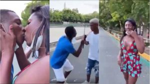 Read more about the article Man in tears after passionate kissing Another man dressed as a woman [Video]
