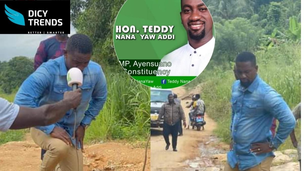 Read more about the article VIDEO-MP Kneels, Pleads To Akufo-Addo To Help Fix Poor Roads In His Constituency