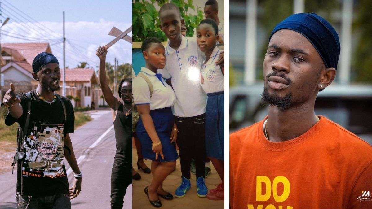 Read more about the article Black Sherif's JHS picture Chilling With Girls pops; Netizen React