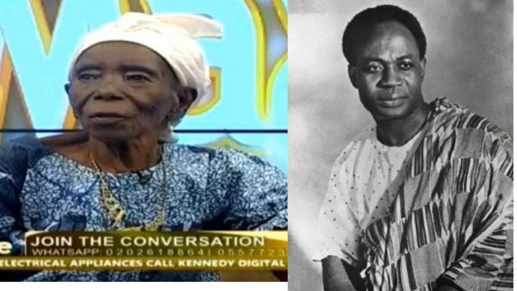 The oldest woman in Ghana