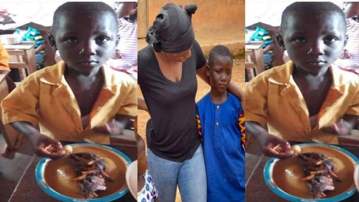 Read more about the article From A Village To Canada: Viral 'Fufu king' Our day Boy Receives Massive Favor