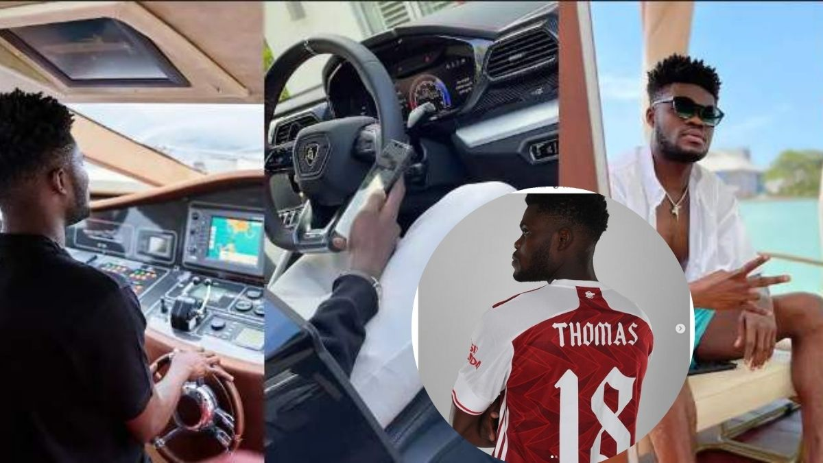 Read more about the article $272,000 Lamborghini, Mansions And More – Thomas Partey's Lavish Lifestyle pops up– Videos